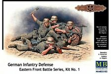 MasterBox MB35102 1/35 German Infantry Defense East Front Kit No. 1