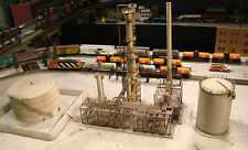 HO Scale Building Walthers Huge Refinery, Tank, Loading Rack Lot Built Weathered