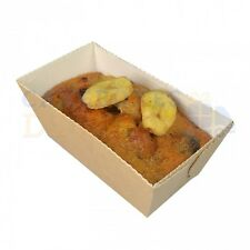 1000 x DISPOSABLE LOAF MOULD 80x40x40mm NEXT DAY DELIVERY * ORDERED B4 1PM