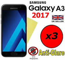 3x HQ MATTE ANTI GLARE SCREEN PROTECTOR COVER FILM GUARD SAMSUNG GALAXY A3 2017