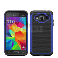 For Samsung Galaxy J3 2016 Shockproof Heavy duty Hybrid Rubber Hard Case Cover