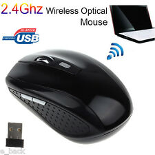 2.4GHz USB Wireless Optical Gaming Mouse 2000DPI Mice For Laptop Desktop PC Hot