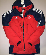 Olympic Team GB Winter Jacket Training ATHLETE ISSUE Skiing BNWT XS 32/34 UK 6/8