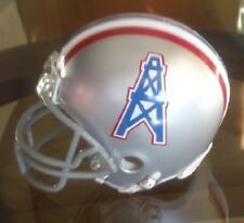 HOUSTON OILERS 1967-70 STYLE FOOTBALL MINI HELMET