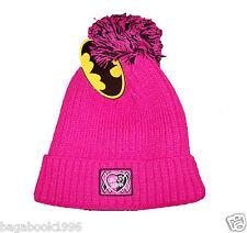 DC Comics Batman Girl's Harley Quinn Winter Pom Pom Toque / Hat CAP121 SIZE 7-14