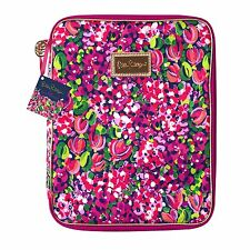 LILLY PULITZER Agenda Folio WILD CONFETTI Organizer Case Holds Tablet, Notebook