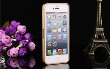 Ultra Thin Aluminum Metal Frame Bumper Cover Case For Apple iPhone 5s 5 5th