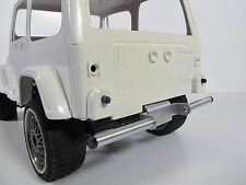 Custom Rear Aluminum Bumper Guard for Tamiya RC 1/10 CC01 Chassis Jeep Wrangler