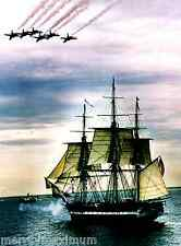 USS Constitution Old Ironside Navy Ship Photograph Picture Blue Angels 1997 Sail
