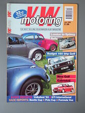 R&L Mag: VW Motoring July 1993 Polo Driving School/Volksfest/Mk1 Golf
