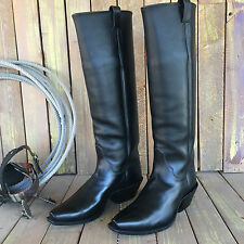 "21"" Tall Custom Handmade Michael Anthony Western Cowboy Boots - Size 12 E"