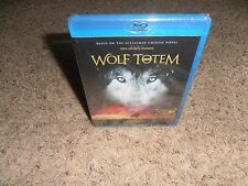 WOLF TOTEM blu-ray BRAND NEW FACTORY SEALED movie