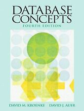 Database Concepts Kroenke / Auer 4th Edition