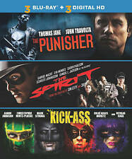 The Punisher/The Spirit/Kick-Ass (Blu-ray Disc, 2014)