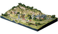 Woodland Scenics ST1482 N Scenic Ridge Layout Train Scenery