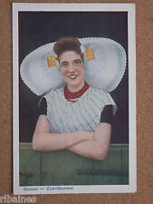 R&L Postcard: Netherlands, Zeeland, Zuid-Beveland, Dutch Lady in Costume