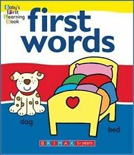 First Words (Babys First Learning Books),GOOD Book