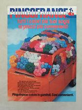D838- Advertising Pubblicità -1980- PINGOFRANCE , COLORE IN GOMITOLI