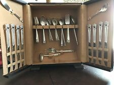 1847 Rogers Bros IS Eternally Yours Silver Plate Silverware Flatware Set 62 Pcs