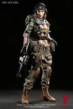 1/6 Very Cool Toys VCF-2026 ACU Camo Female Soldiers Shooter Action Figure US