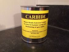 CERTIFICATE for 1 lb. Can of Calcium Carbide Miner's Grade Pea Size