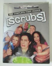 Scrubs The Complete First Season DVD 3 Disc Set 24 Episodes Zach Braff used