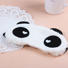 Soft 3D Eye Sleep Mask Panda Rest Shade Cover Travel Sleeping Blindfold Relax