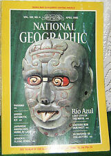 NATIONAL GEOGRAPHIC APRIL 1986 PANAMA;ANTARCTIC ICE;FLYING FOX;RIO AZUL;JAPAN-AM