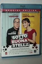 SOTTO UNA BUONA STELLA BD BLU-RAY DISC USATO FILM VERSIONE ITALIANA GD1 46798