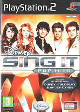 Disney Sing It: Pop Hits Sony Playstation 2 PS2 3+ Music Game