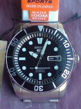 Seiko 5 sports sea urchin snzf17j, made in japan, new and rare.