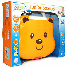 Baby's Musical Play and Learn Laptop Baby Toy Bear Themed 12 Months Plus