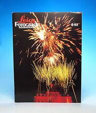 Leica FOTOGRAFIE International 8·92 Zeitschrift german magazine - (100729)