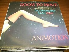 """Animotion-Room To Move-Send It Over-7"""" 45-Polydor-Picture Sleeve-Vinyl Record-NM"""