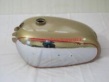 NEW BSA GOLDEN FLASH A10 PLUNGER MODEL GOLDEN PAINTED CHROME GAS PETROL TANK