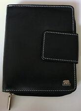 Geldbörse der Edelmarke Brown Bear, Rindleder , schwarz/rot,  NEU,OVP - BB3