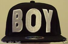 UNISEX DELUXE BOY GIRL HIP HOP FASHION PUNK SNAPBACK CAP HAT COVER BLACK IN U.S.