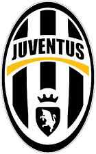 "Juventus FC Italy Football Soccer Car Bumper Sticker Decal 3""X5"""