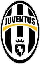 "Juventus FC Italy Football Soccer Car Bumper Sticker Decal 3""X5"""