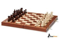 Brand New Luxury Olympic Wooden Chess Set 35cm x 35cm