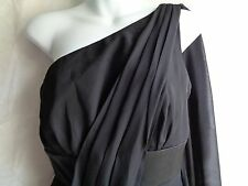 WHITE HOUSE BLACK MARKET WOMENS LADIES LITTLE BLACK COCKTAIL FORMAL DRESS -SZ 2