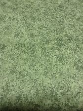 "P. Kaufman Home Decor Cotton 54"" Sage Green Marble Fabric Scotchguard 18 Yards"