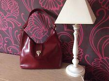 Lancaster sac à main femme rouge bordeaux