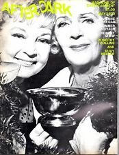 AFTER DARK MAGAZINE MAY 1972 GAY INTEREST RUBY KEELER  JOHN LENNON YOKO ONO etc