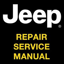 JEEP WRANGLER TJ 1997 1998 1999 2000 2001 2002 FACTORY REPAIR SERVICE MANUAL