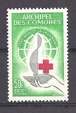 COMORES , UN , RED CROSS , 1963 , STAMP ,  PERF , VLH