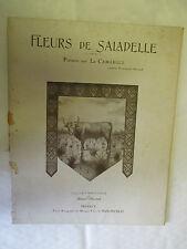 """Jeanne Trouchaud-Pairaube """"Fleurs de Saladelle Poèmes sur la Camargue"""" illustré"""