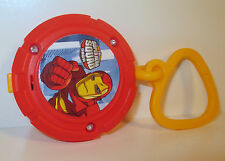 "2009 Light-Up Clip-On Iron Man 2.5"" Burger King Avengers Marvel Super Hero Squad"