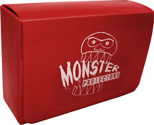 (1) BCW-MB-DD-MRD Red Double Deck Trading Card Game Box Monster Protectors M:TG