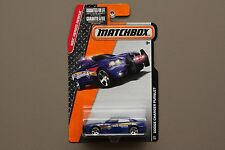 MATCHBOX 2015 MBX HEROIC RESCUE DODGE CHARGER PURSUIT POLICE CAR NOT HOTWHEELS